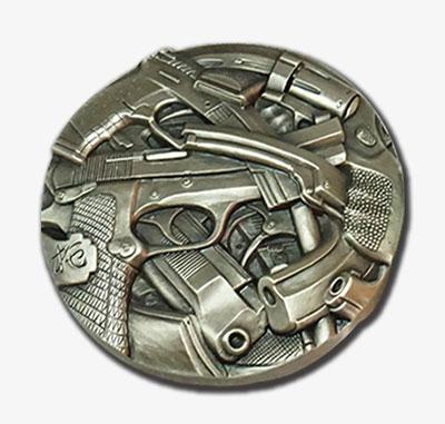 上海百拓--枪与玫瑰 大银章